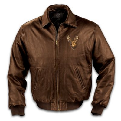 The Northwoods Legends Men's Leather Jacket