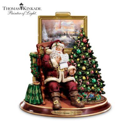 Thomas Kinkade The Joy Of Christmas Figurine