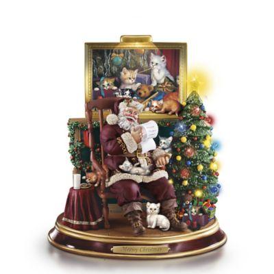 Meowy Christmas Figurine
