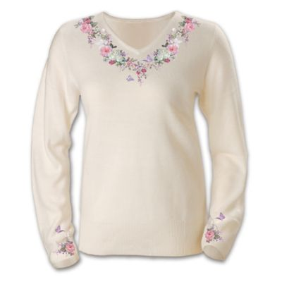 Lena Liu's Garden Serenade Sweater