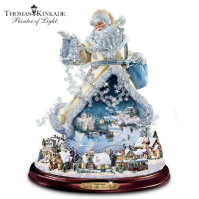 Thomas Kinkade And To All A Good Night Figurine