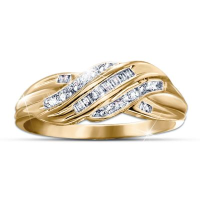 Diamond Embrace Eternity Ring
