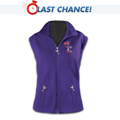 Attitudes, They Are a-Changing Reversible Fleece Vest