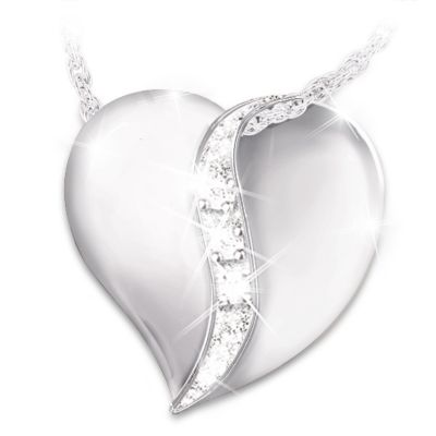 My Precious Daughter Diamond Pendant Necklace