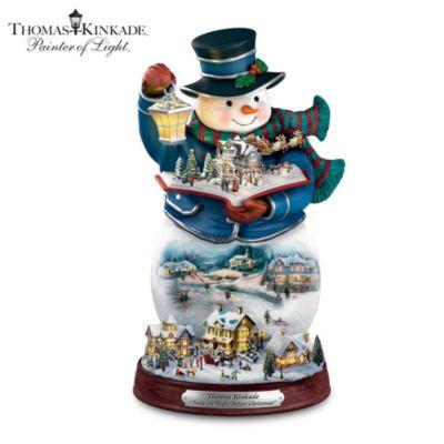Thomas Kinkade Twas The Night Before Christmas Figurine
