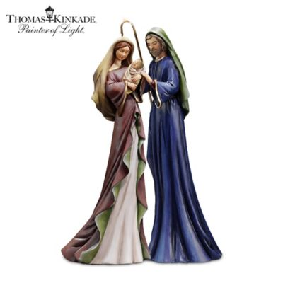 Thomas Kinkade Mary & Baby Jesus Figurine