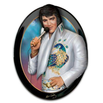 Elvis: Living Legend Wall Sculpture