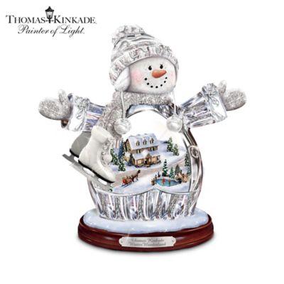 Thomas Kinkade Winter Wonderland Figurine