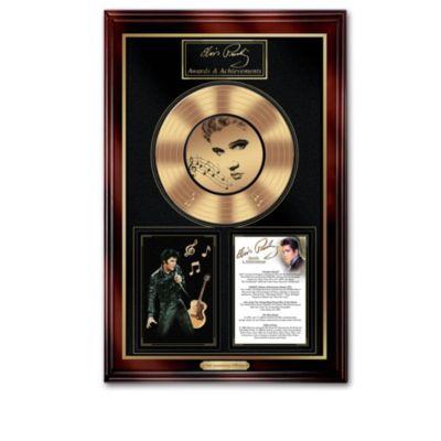 Elvis Presley 75th Anniversary Tribute Wall Decor