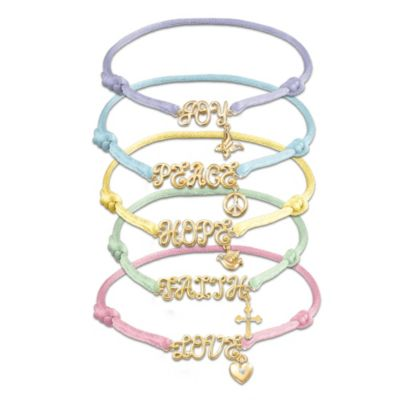 Wishes From The Heart Bracelet Set