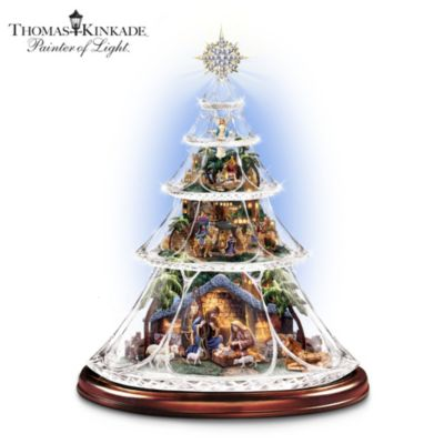 Thomas Kinkade Reflections Of Peace Tree