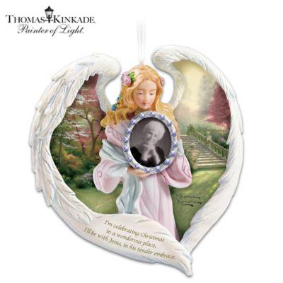 Thomas Kinkade Always In Our Heart Ornament