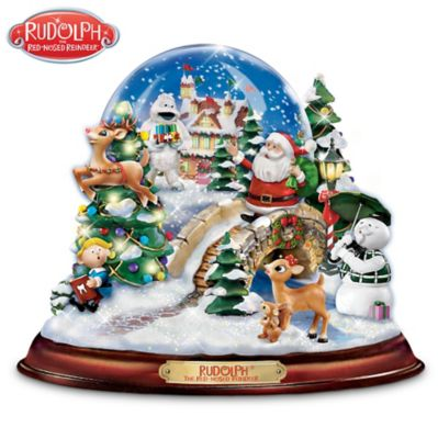 Rudolph The Red-Nosed Reindeer Snowglobe