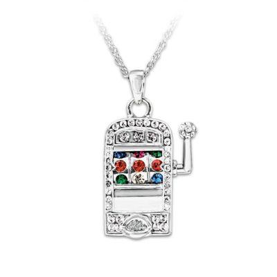 Lucky Jackpot Pendant Necklace