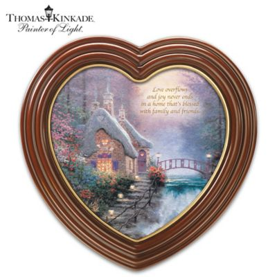 Thomas Kinkade A Home That's Blessed Wall Decor