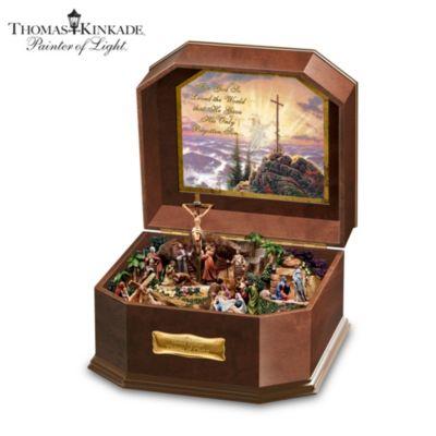 Thomas Kinkade Visions Of Christ Music Box