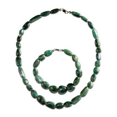 Natural Beauty Necklace And Bracelet Set