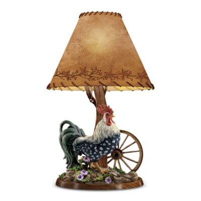 Morning Glory Lamp