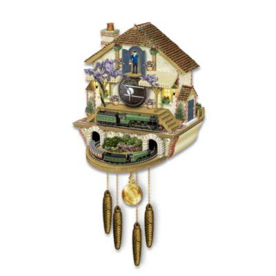 The Flying Scotsman Memories Of Steam Cuckoo Clock