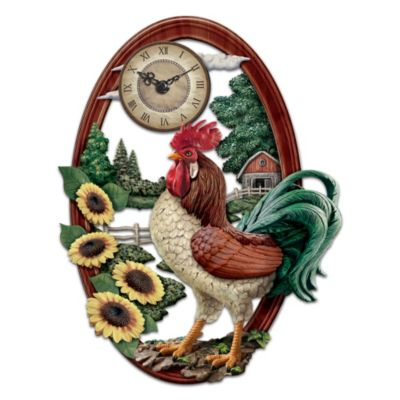 Country Pride Wall Clock