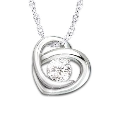 Precious As A Diamond Pendant Necklace