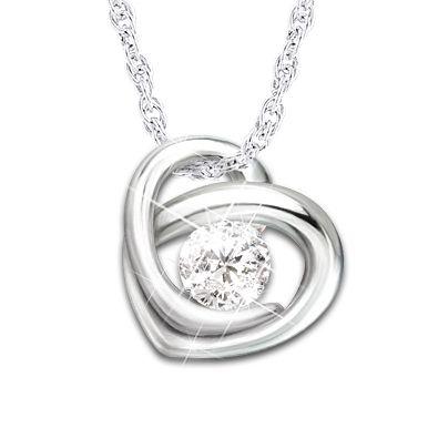 Precious As A Diamond Pendant Necklace