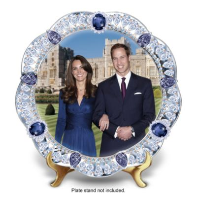 A Royal Engagement Collector Plate