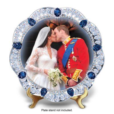 A Royal Kiss Collector Plate