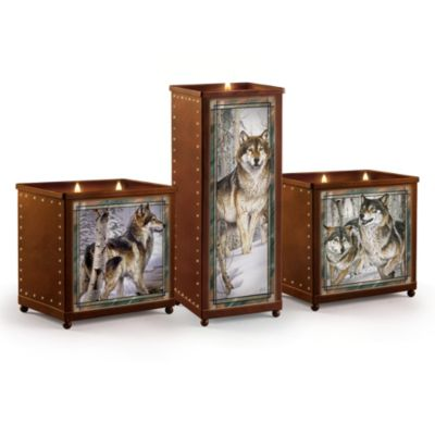 Sentinels Of The Forest Candleholder Set