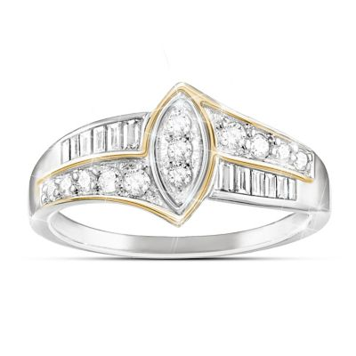 The Marquise Diamond Ring