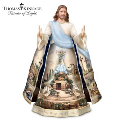 Thomas Kinkade Visions Of Faith Sculpture