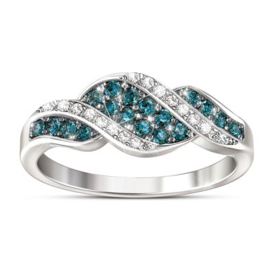 Cascade Of Beauty Ring