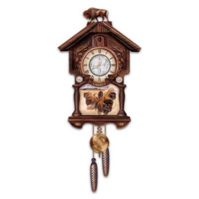 U S Indian Head Nickel Cuckoo Clock