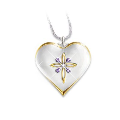 My Blessed Granddaughter Pendant Necklace
