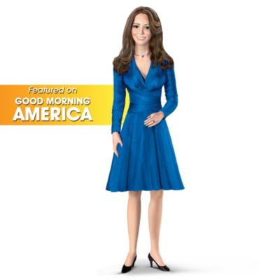 Future Princess Kate Middleton Royal Engagement Fashion Doll