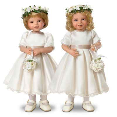 Royal Flower Girls Child Doll Set