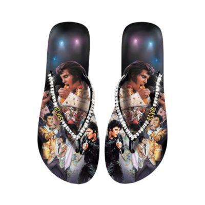 Elvis Showstopper Women's Flip Flops