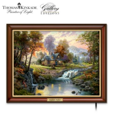 Thomas Kinkade Mountain Retreat Wall Decor