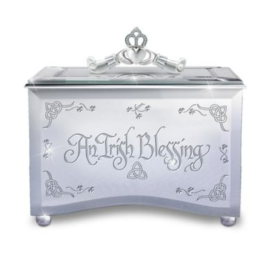Reflections Of An Irish Blessing Music Box