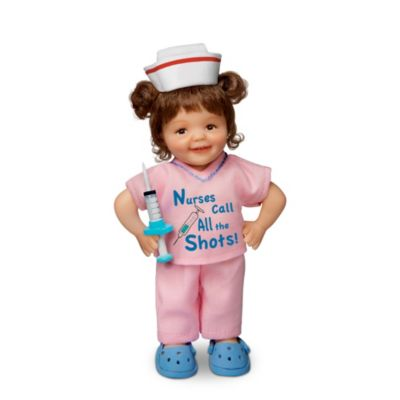 Nurses Call All The Shots Child Doll