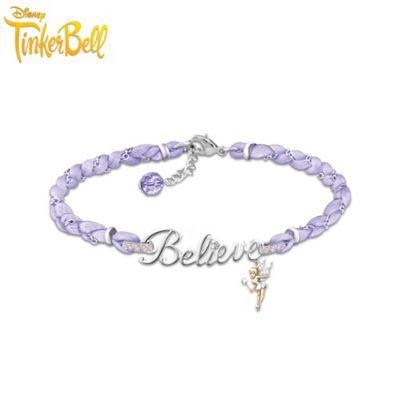 Tinker Bell Believe Crystal Bracelet