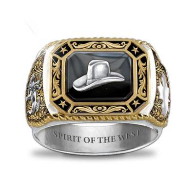 Spirit Of The West Men's Ring