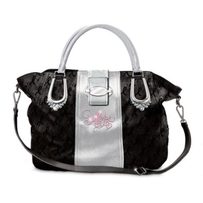Ribbons Of Hope Handbag