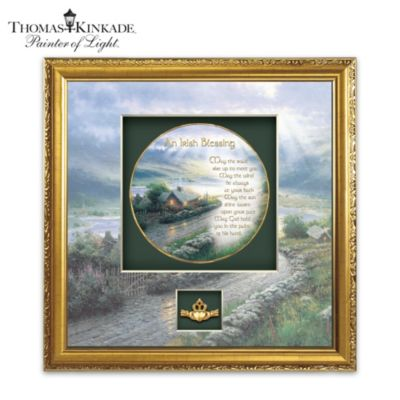 An Irish Blessing Shadowbox Plate
