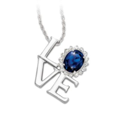 Love, Forever Pendant Necklace