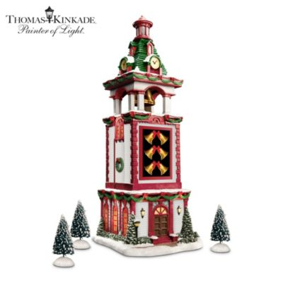 Thomas Kinkade Bell Tower Village Accessory