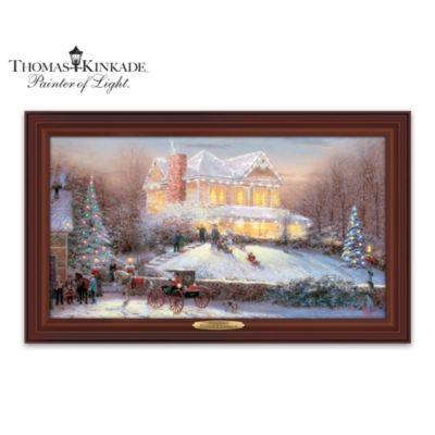 Thomas Kinkade Victorian Christmas II Wall Decor