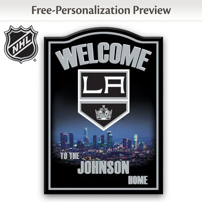 Los Angeles Kings® Personalized Welcome Sign