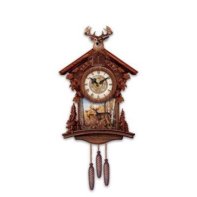 Woodland Heritage Cuckoo Clock