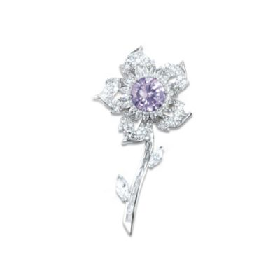 The Sovereign Rose Brooch